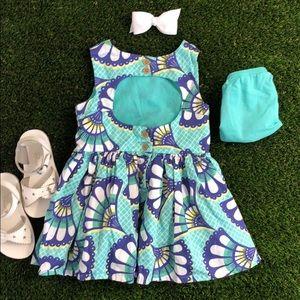Toddler Cutout Dress